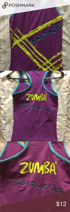 """JUST IN JUST DANCE 💃🏻 RACERBACK (Instructor) There's no such thing as too much of a good thing, and don't we know it! Here is a classic racerback with comfort and a bit of stretch, then added a little """"ooh-la-la."""" With a large """"Dance"""" print on the front (like you need to be asked to DANCE twice!), the Dazzle Racerback makes it easy (and guilt-free) to grab the look as many times as you can. Now go out and dazzle 'em with those sweet moves!  MADE WITH LOVE AND: - 90% comfy cotton - 10%…"""