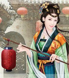 chinese hanfu, photo,beautiful