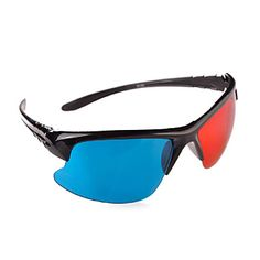 semi-telaio rosso e blu, occhiali stereo 3d – EUR € 2.38