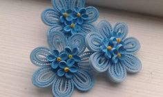 Květ s malými kvítky * quilling