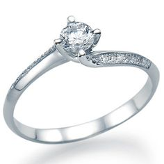 Beautiful twisted diamond engagement ring is available from 0.40 carat to 2.00 carat beautiful natural round brilliant cut sparkling white center