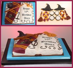 Harry Potter Cake and Cookies