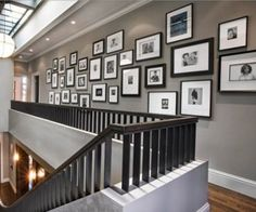 The Grey Home : Decorating houses with gallery wall : 18 gallery wall ideas.