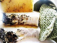 Eucalyptus Mint Soap Gift Wrapped in Plantable Paper Organic by BambuEarth $8.00