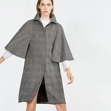 ZARA Woman BNWT Grey Marl Wool Blend Checked Cape Coat RRP GBP 139.00 7872/659  $122.49    End Date:  Apr-27 11:42   Buy It Now for only: US $122.49  Buy it now    |  http://bayfeeds.com/ebayitem.php?i=182005939175&u=3464&f=3228