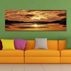 DYC 10391 Photography Sunrise Scenery Print Art - COLORMIX 30 X 90CM