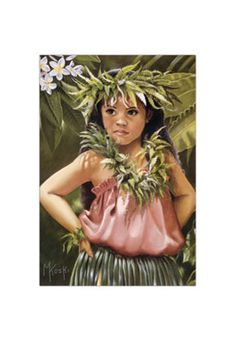 I want this print! Keiki hula by Mary Koski