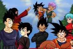 Dragon Ball Z Gathering by Pauris.deviantart.com on @DeviantArt