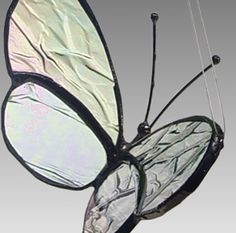 Cara Mia Stained Glass Butterfly Mommy Butterfly por LAGlass