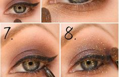 Grab your notepad and pen! Check out some of the most beautiful DIY eye makeup you can try at home!