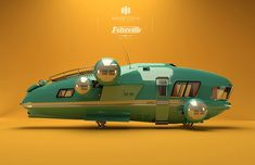 ArtStation - MARV: Petroville, design and advertising , Maarten Hermans Steampunk, Science Fiction, Gnu Linux, Edge Of The Empire, Spaceship Design, Concept Ships, Sci Fi Horror, Lost In Space, Ship Art