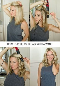 How to Curl Your Hair for Loose Waves I am so happy to finally have my hair curling tutorial ready for you today! Y'all are so sweet and know how to make a girl feel good about her hair and this is one of the biggest requests I get- to s Medium Hair Styles, Short Hair Styles, Hair Curling Tutorial, How To Curl Your Hair, Loose Curls Medium Length Hair How To Do, How To Curl Hair With Curling Iron, Curling Thick Hair, Curling Hair With Wand, Curls With Wand