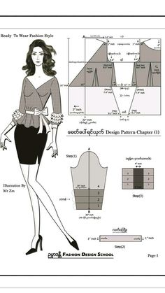 You should know this back armhole rule. Dress Design Patterns, Blouse Patterns, Clothing Patterns, Sewing Patterns, Pattern Draping, Corset Pattern, Pants Pattern, Pattern Drafting Tutorials, Myanmar Dress Design