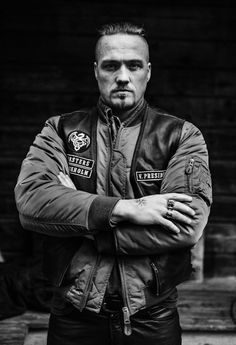 Christian Hillborg who plays Erik in the Last Kingdom