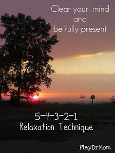 PlayDrMom shares her favorite relaxation technique.  Great for all ages.