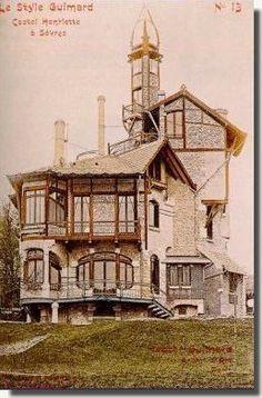 Le Castel Henriette d'Hector Guimard