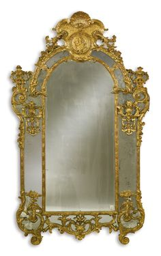 An early Louis XV carved giltwood mirror<br><p>circa 1725</p> | Lot | Sotheby's