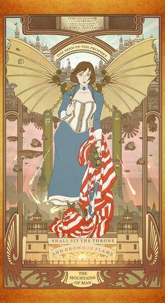 Elizabeth by the Way of Mucha