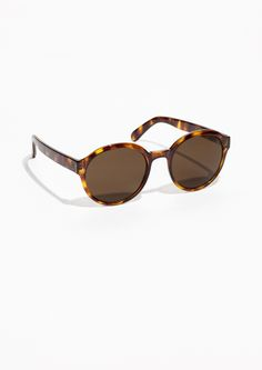 & Other Stories   Round Frame Sunglasses