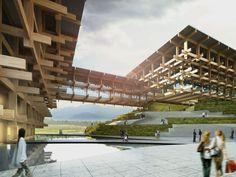 Kengo Kuma une celosías - Noticias de Arquitectura - Buscador de Arquitectura