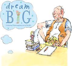 Dream big. Celebrate Roald Dahl Day tomorrow, September 13th!