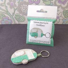 caravan keyring mini craft kit by fibrespace | notonthehighstreet.com