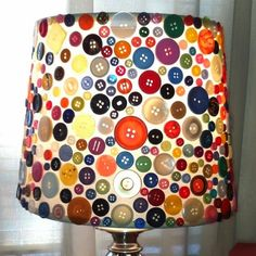 Kids can make a lamp to put in their new rooms