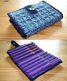 Ravelry: Project Gallery for Aluminum Crochet Hook Case pattern by Priscilla Hewitt