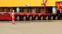 How huge Yamal modules are moved -  direction changing