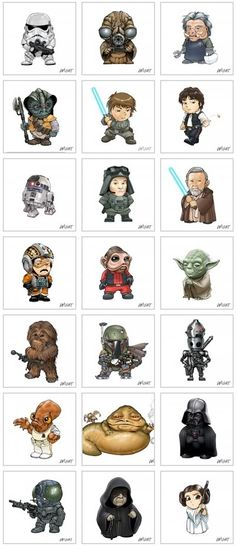 Chibi on Pinterest | Star Wars, Lord Of The Rings and Pirates ...