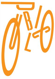 typeworship: Masterfully constructed type bike by Pentagram's Paula Scher. Via: design-is-fine: Paula Scher, poster PUBLIC, USA. Via Cooper Hewitt Typography Letters, Graphic Design Typography, Lettering Design, Graphic Design Illustration, Paula Scher, Gfx Design, Logo Design, Typography Inspiration, Graphic Design Inspiration