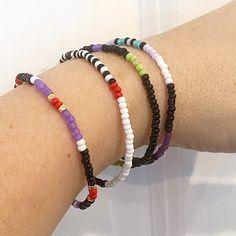 The Disney Villains Individual Beaded Bracelet Set Stretch | Etsy Stack Bracelets, Stackable Bracelets, Stretch Bracelets, Beaded Bracelets, Disney Villains, Gold Beads, Bracelet Set, Unique Jewelry, Etsy