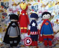 Super Hero Crochet made by Eleni H./crochet pattern by lalylala