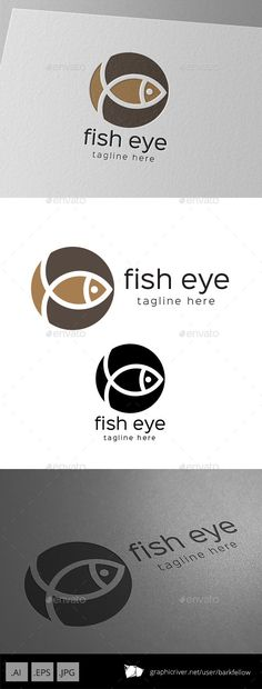 Fish Eye Circle Logo — Vector EPS #ethnic #water • Available here → https://graphicriver.net/item/fish-eye-circle-logo/9427074?ref=pxcr