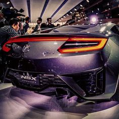 Nice rear - #Acura #NSX #Concept #Car #TorontoAutoShow #toronto #cars #auto #sexy #canada #picoftheday #instagram #cargram #doperide #supercar #conceptcar #conceptcars #carcritics #hellaflush
