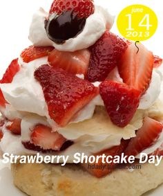Strawberry Shortcake Day!