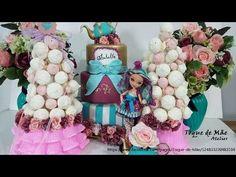 DIY: Ideias para festa Infantil vídeo 1 - Torre de merengues- suspiros - Decoração Ever After High - Get2File.net