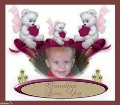 Grandma loves you mason, this is my favortive photo of mason, one of my love bugs, i love you mason, love nano vickie<3