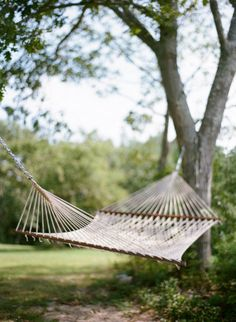 My hammock and all the trouble he went through to hang it up for me after he cut down my designated hammock tree. I was such a spoiled princess!  :-)