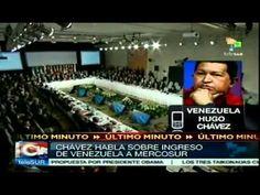 Presidente Chávez saluda ingreso de Venezuela a Mercosur