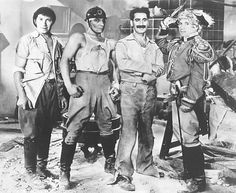 Groucho Marx, Chico Marx, Harpo Marx and Zeppo Marx in Duck Soup