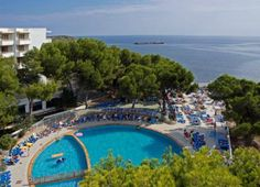 The Intertur Hotel Miami Ibiza is located in a privileged area that is right by the golden sands of Es Canar beach and is just 500 m from ba...
