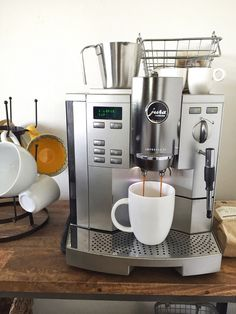 Jura Coffee Machine - The Inspired Room blog