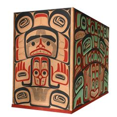 Boxes & Bowls - Glen Rabena, Northwest Coast Native Artist