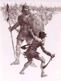 Living in Lilliput: David & Goliath Marshmallow Slings