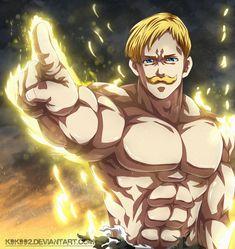 'Escanor Nanatsu no Taizai / Seven Deadly Sins' by xPhage Seven Deadly Sins Anime, 7 Deadly Sins, Anime Angel, Lord Escanor, Manga Art, Manga Anime, Anime Naruto, Animé Fan Art, 7 Sins