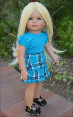 "HARMONY CLUB DOLLS 18"" DOLLS and fashions to fit American Girl. Visit www.harmonyclubdolls.com"
