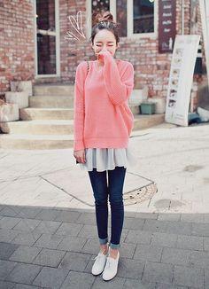 korea fashion outfits that is trendy Korean Outfit Street Styles, Asian Street Style, Korean Street Fashion, Korea Fashion, Korean Outfits, Asian Style, Asian Fashion, Korean Style, Korean Casual