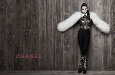 Kristen Stewart for Chanel Métiers d'Art Collection Paris-Dallas 2013/14 Campaign