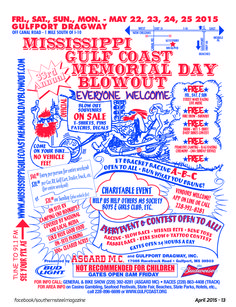 Folks on the Gulf Coast, plan your Memorial Day weekend at the MS Gulf Coast Blowout!